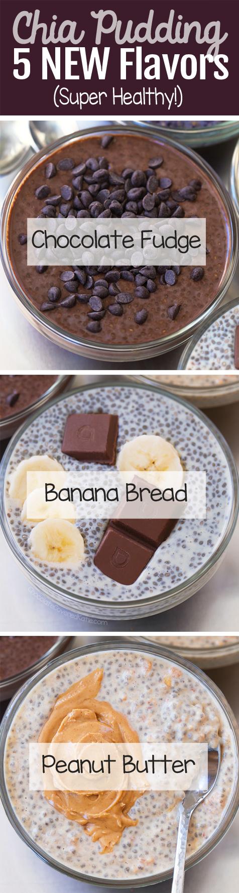 Chia Pudding Recipe – 5 Delicious Flavors!