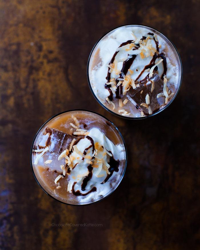 Mocha Coconut Iced Coffee