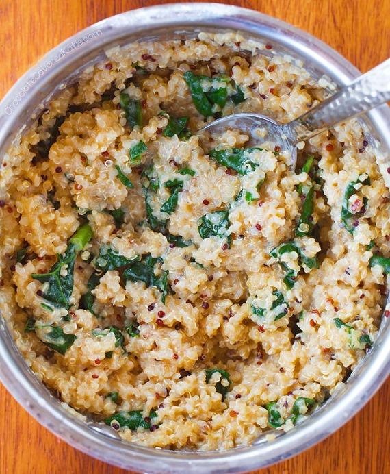 fb kale quinoa