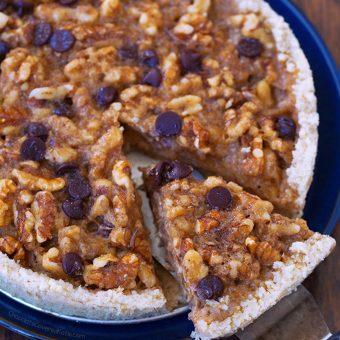 Chocolate Chip Kentucky Pie