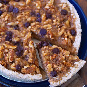Chocolate Chip Kentucky Pie