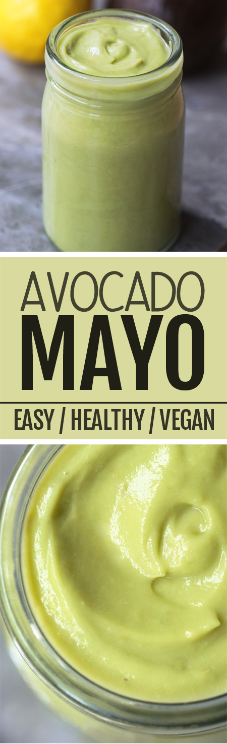How to make healthy avocado mayonnaise, using just basic ingredients