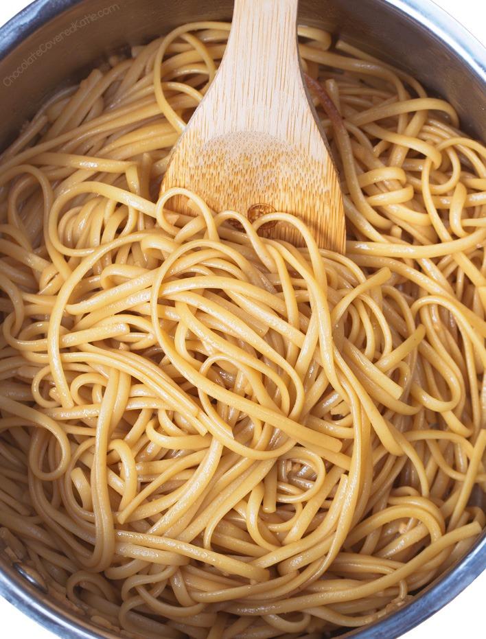 15 Minute Ginger Sesame Noodles