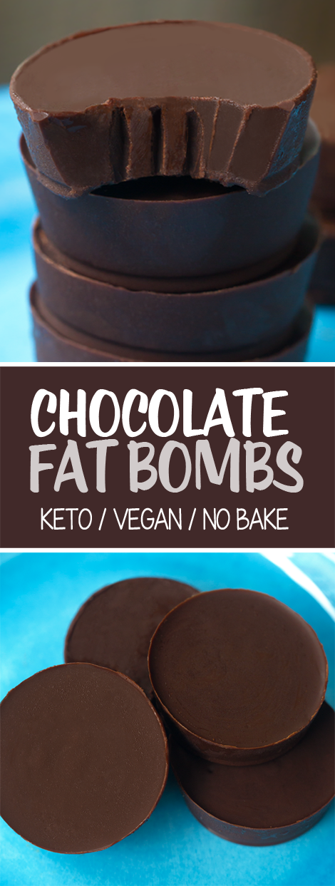 Chocolate Fat Bombs (Vegan & Keto Recipe)