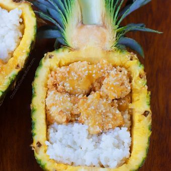 Sticky Pineapple Cauliflower