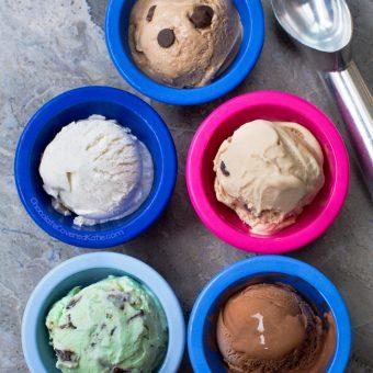 Almond Milk Ice Cream (Vegan, Keto Option)