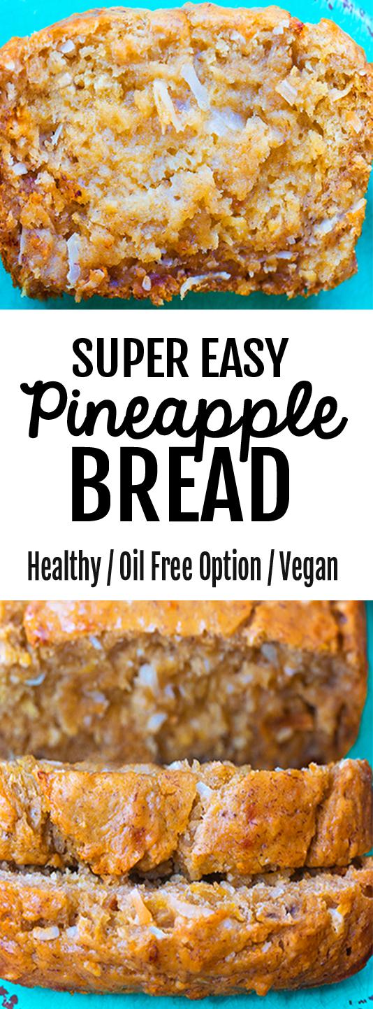 Super Easy Homemade Pineapple Bread Recipe