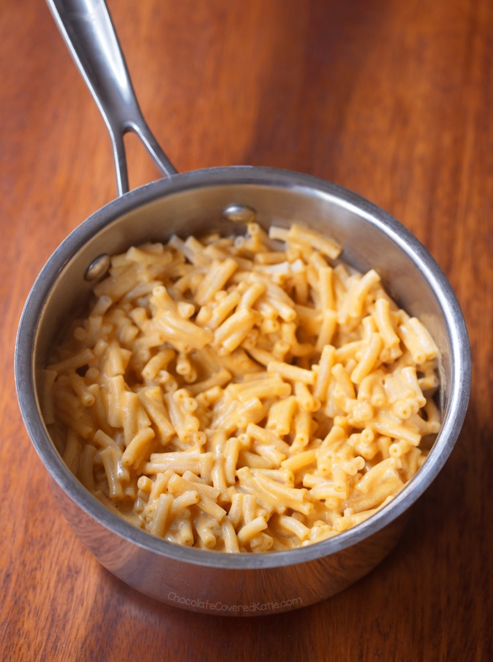 boxed mac and cheese without milk