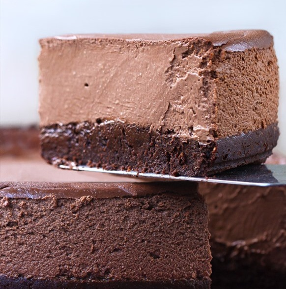 brownie cheesecake vegan