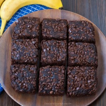 Chocolate Banana Snack Cake