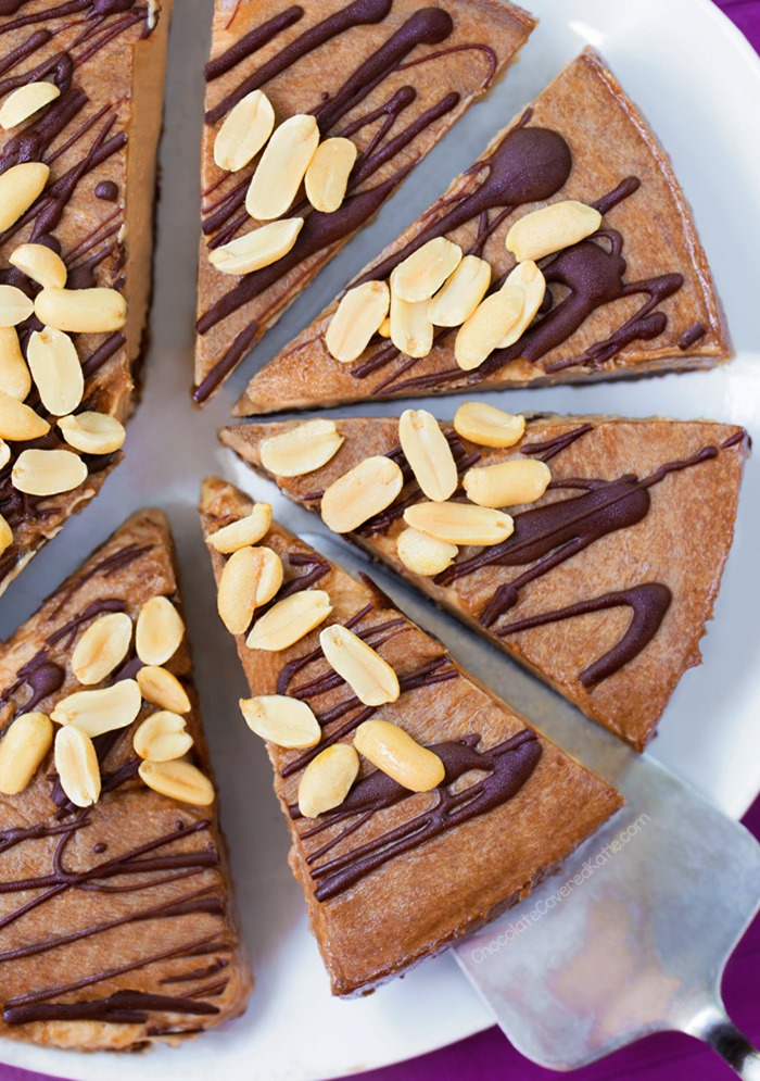 No Bake Vegan Peanut Butter Pie