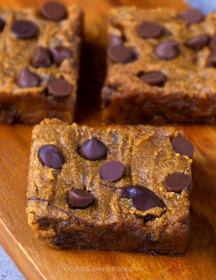 Pumpkin Chocolate Chip Cookie Bars Recipe