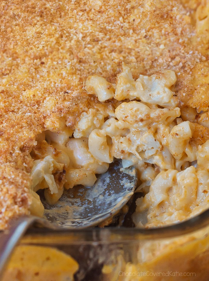 Healthy Cauliflower Mac & Cheese