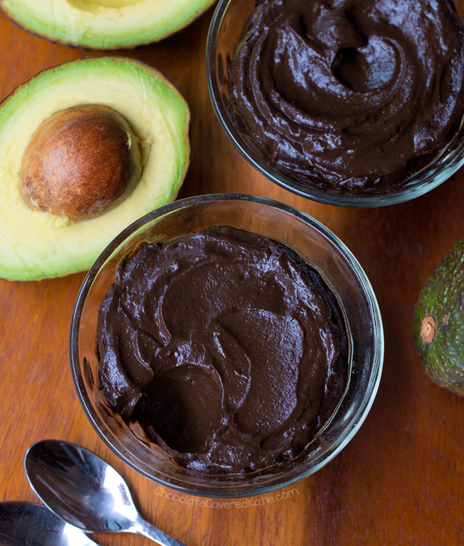 How To Make Avocado Chocolate Mousse With Oat Milk