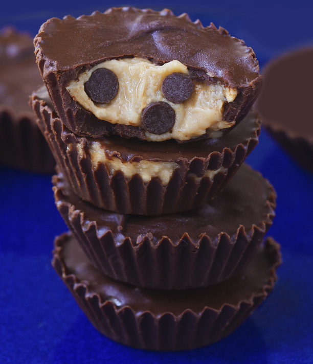 Chickpea Cookie Dough Reeses