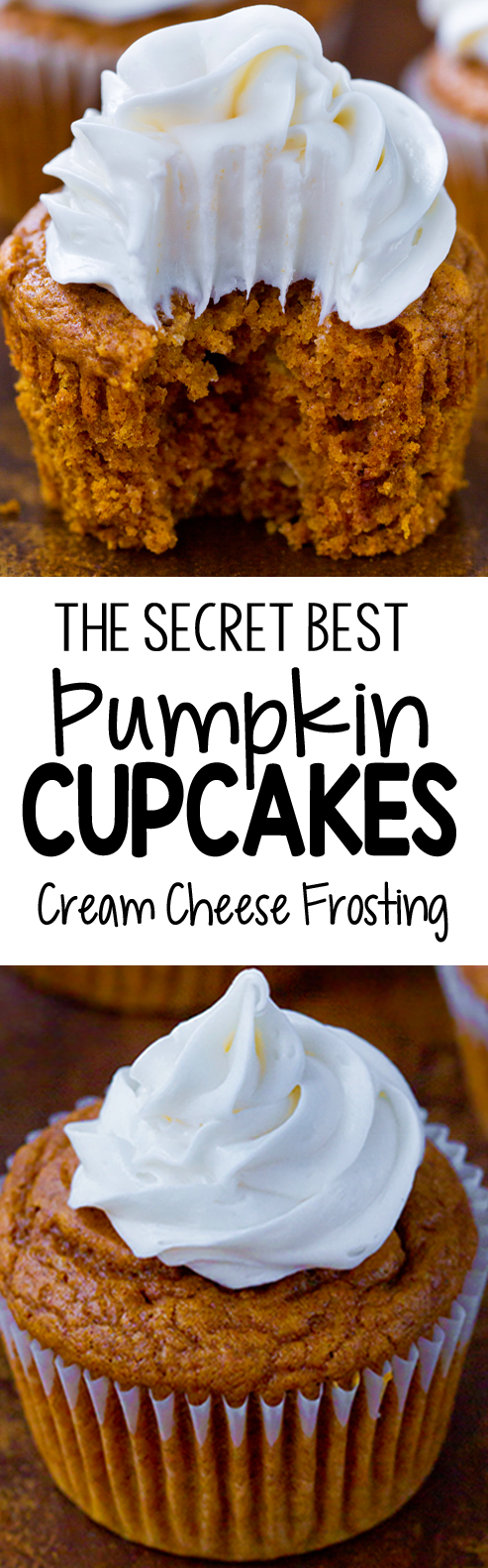 The Secret Best Pumpkin Cupcake Recipe