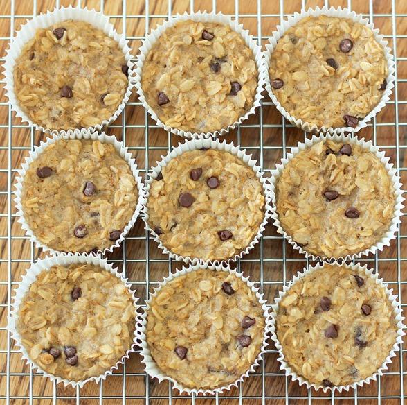 fb oatmeal cupcakes