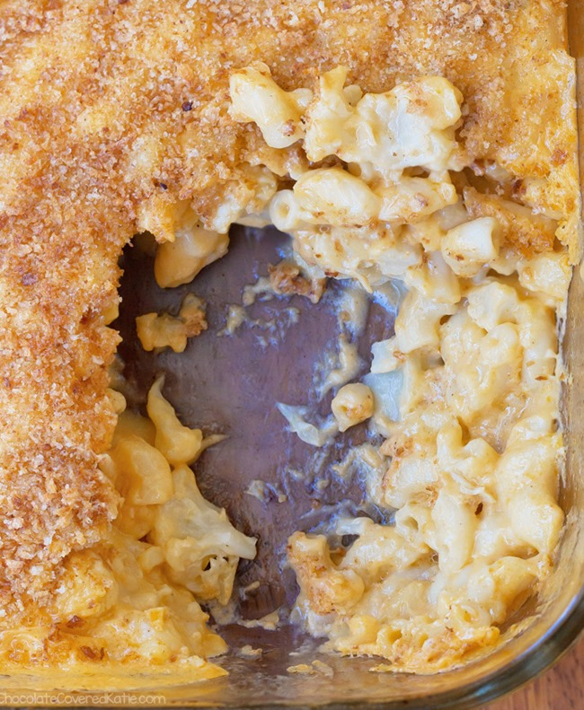 Cauliflower Mac And Cheese Thanksgiving