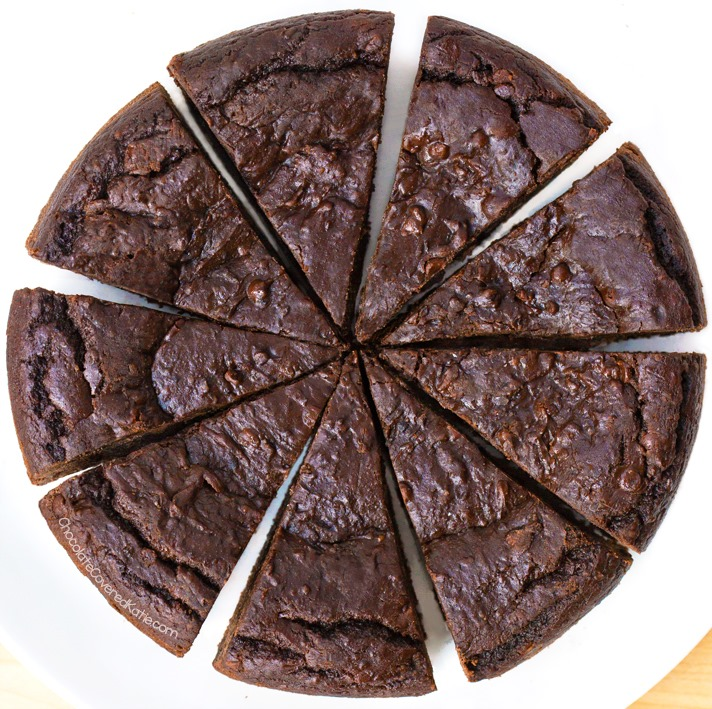 Deep Dish Brownie Pie Recipe