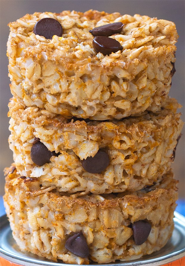 Super Healthy Pumpkin Breakfast Oatmeal Cupcakes