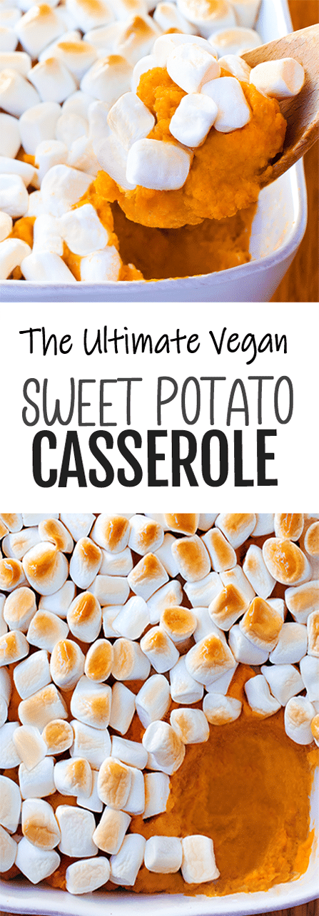The Ultimate Vegan Sweet Potato Casserole Recipe For Thanksgiving