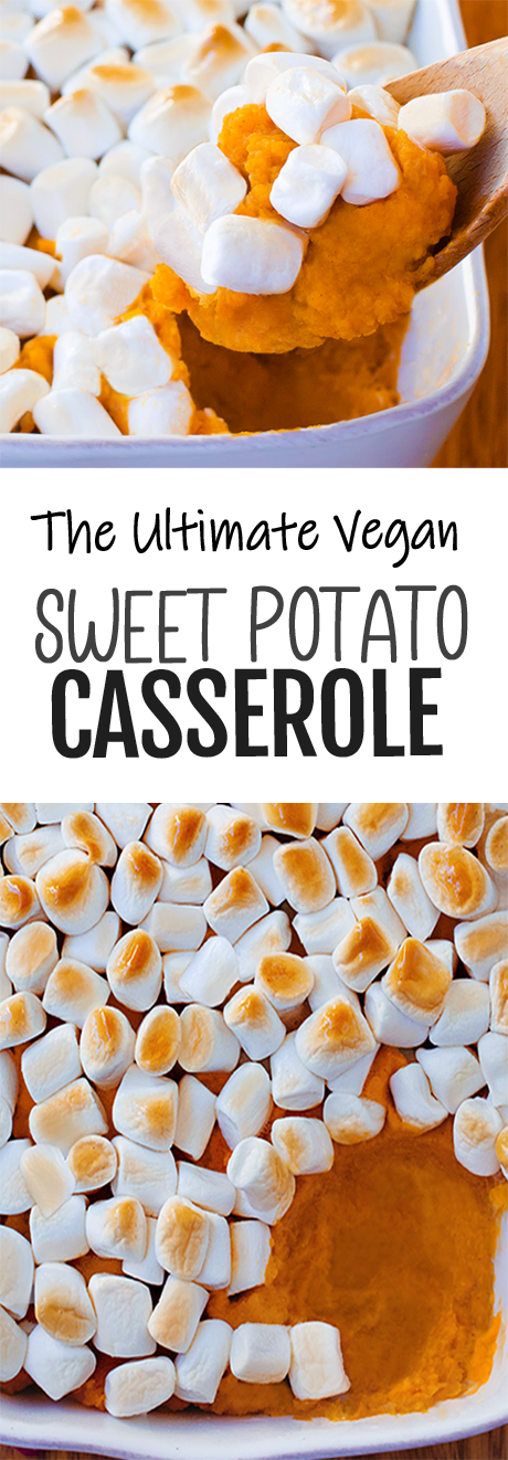 The Ultimate Vegan Sweet Potato Casserole Recipe