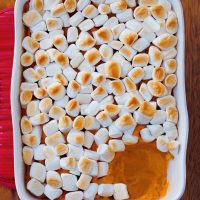 Vegan Sweet Potato Casserole Homemade Recipe