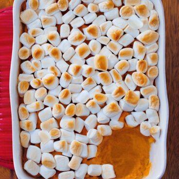 Vegan Sweet Potato Casserole Homemade Recipe