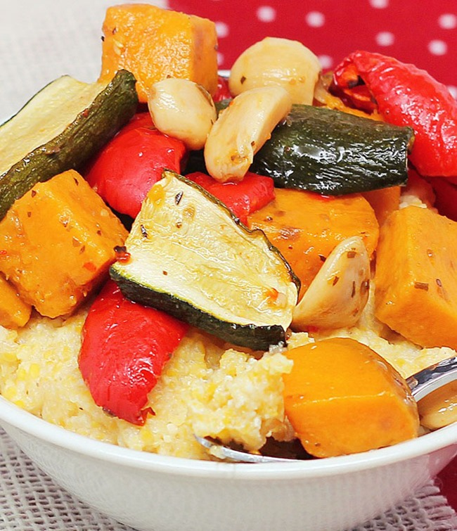 Slow Cooker Roast Vegetables