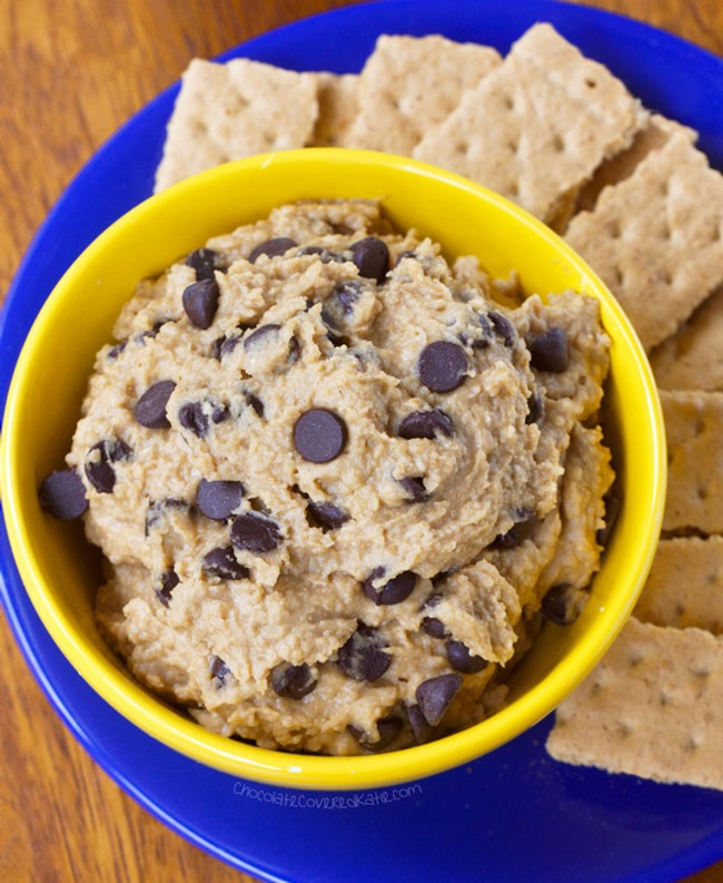 Chickpea Cookie Dough Dip