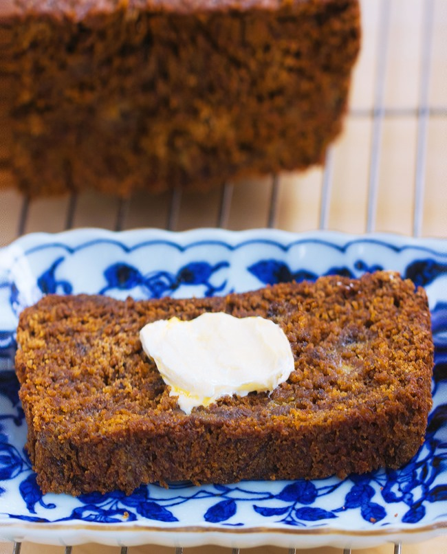 fb gingerbread banana bread