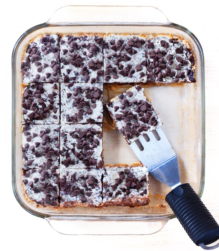 vegan seven layer bars