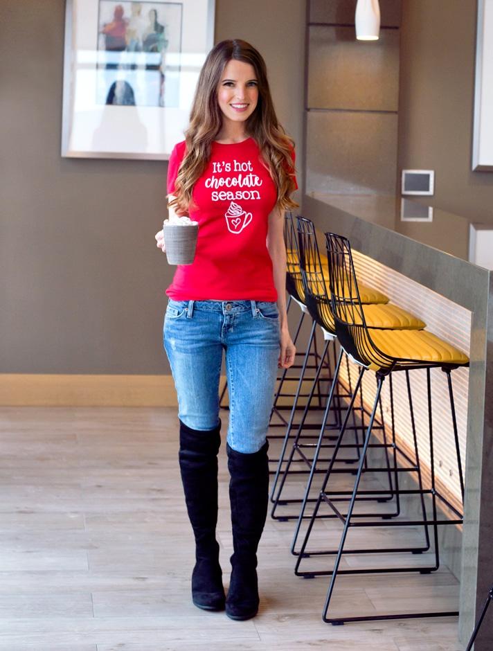 Vegan Girl Hot Chocolate