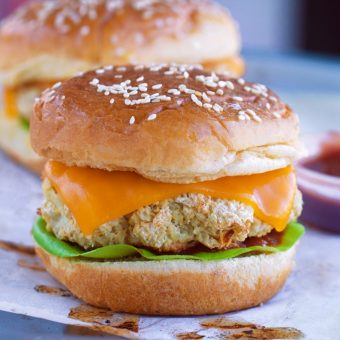 Cauliflower Burgers - Just 6 Ingredients!