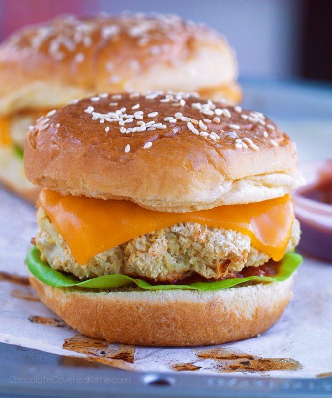 Cauliflower Burgers Recipe
