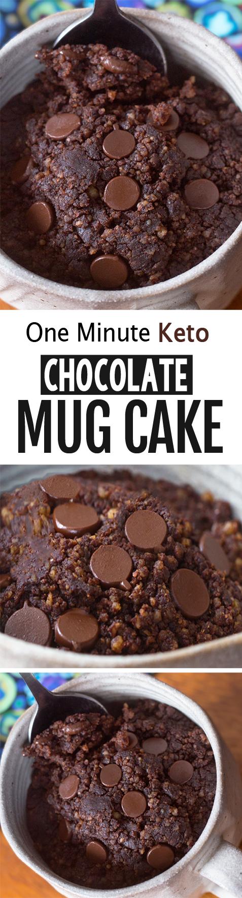 Keto Mug Cake - The BEST Low Carb Recipe!