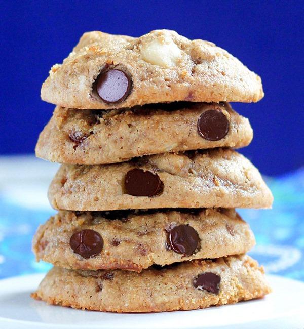 Biscoitos de chocolate saudáveis