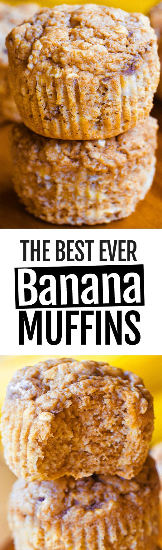 The Best Banana Muffin Recipe (Easy, Healthy, Vegan)