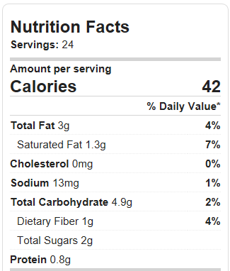 thin mints calories