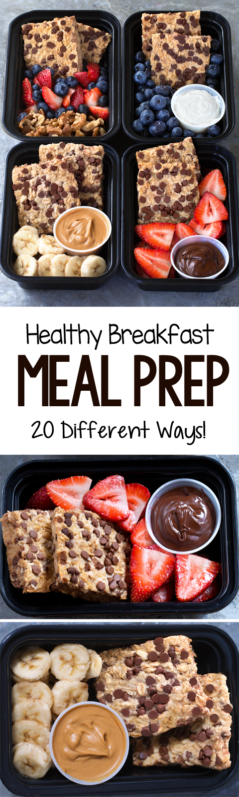 20 Super Healthy Breakfast Meal Prep Ideas - Easy Recipes