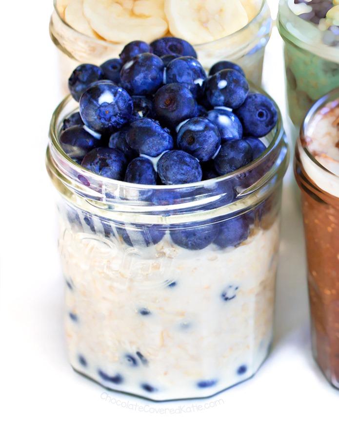 Blueberry Overnight Oatmeal
