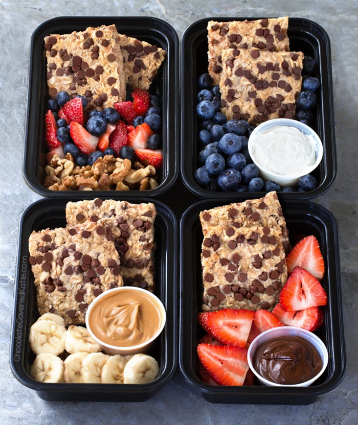 Breakfast Meal Prep Oatmeal Bars