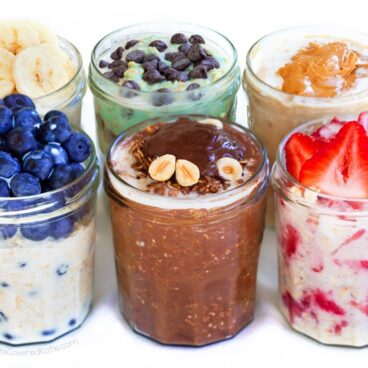 Overnight Oats Recipes, 15 Different Flavors