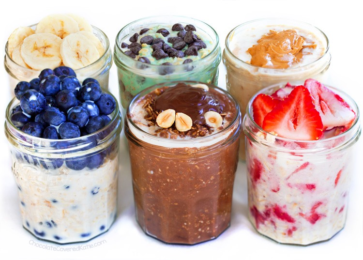 Overnight Oatmeal Recipes