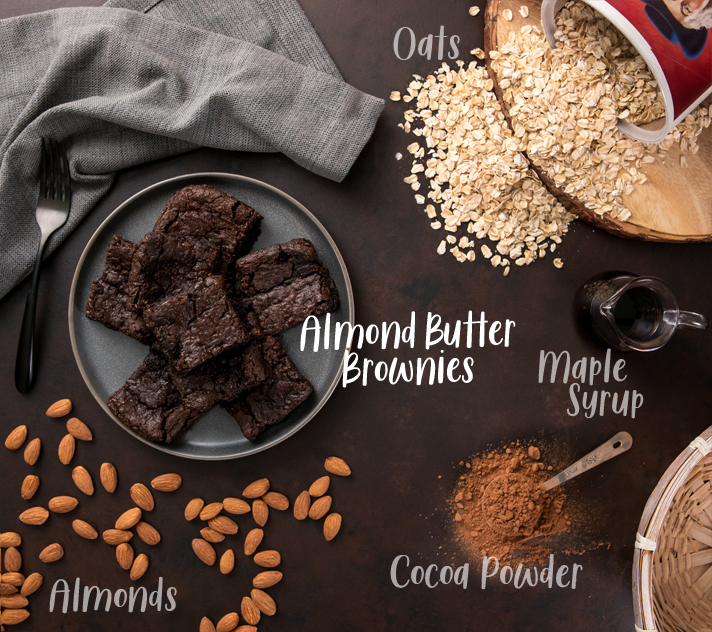 Vegan Brownie Ingredients
