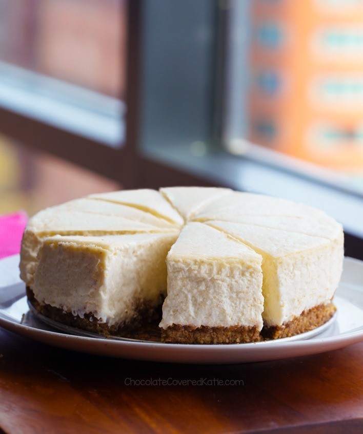 Easy Keto Cheesecake, Low Carb, No Bake Option