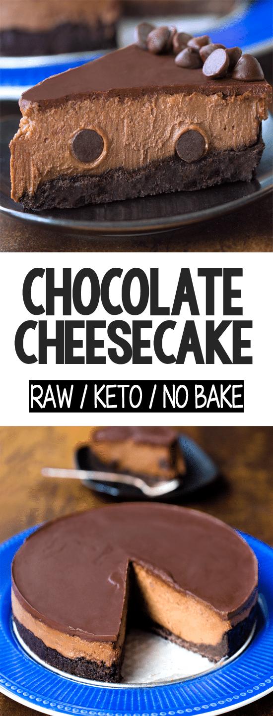 Secret Healthy Raw Chocolate Cheesecake Recipe