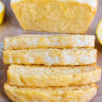 The Ultimate Vegan Lemon Loaf Cake