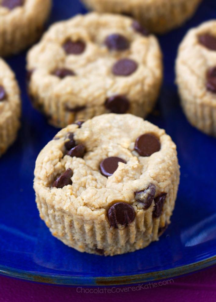Flourless Almond Butter Blender Muffins