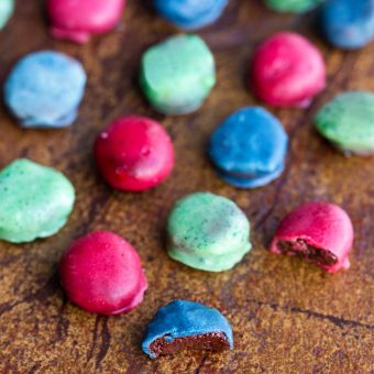 Homemade M&Ms Candies